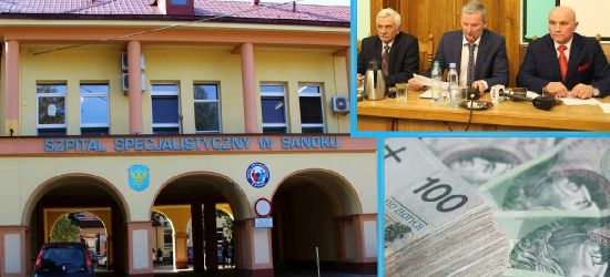 Powiat chce przeznaczyć 100 tysięcy na sanocki szpital