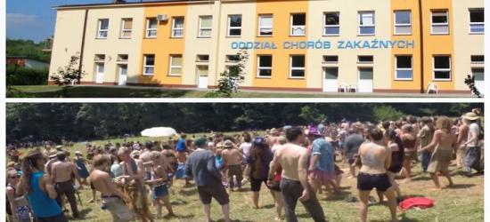 WRACAMY DO TEMATU: Dwie osoby z czerwonką w sanockim szpitalu. Choroba pojawiła się wśród hipisów