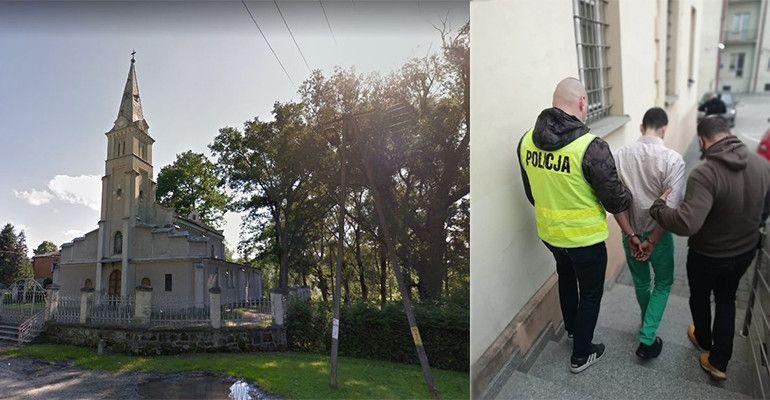 PODKARPACIE: Pobili księdza, zdewastowali kościół! Dwaj mężczyźni aresztowani