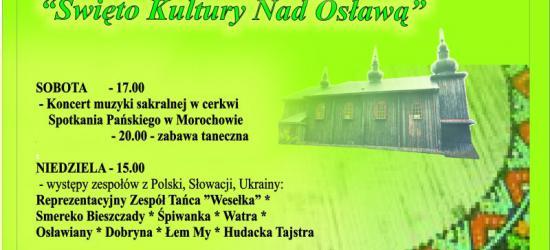 NASZ PATRONAT: XXIV Święto Kultury nad Osławą