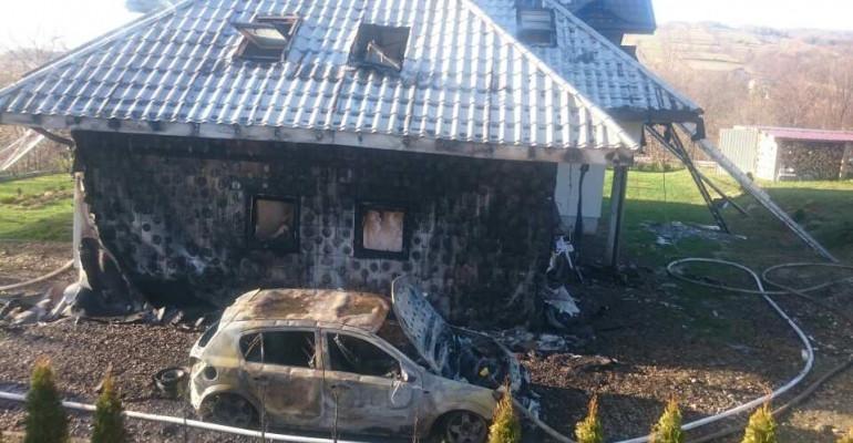 RACZKOWA: Był wielki pożar. Olbrzymia mobilizacja mieszkańców (ZDJĘCIA)