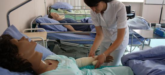 Wysoka nota dla sanockiego pielęgniarstwa