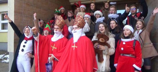 Mikołaje są wśród nas! Fantastyczna akcja I LO! (VIDEO)