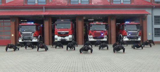 """Sanoccy strażacy także """"pompowali""""! (VIDEO)"""