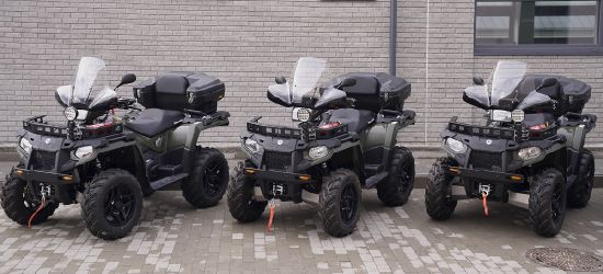 BIESZCZADZKA GRANICA: Quady, skutery śnieżne, samochody. Nowa flota (FOTO)