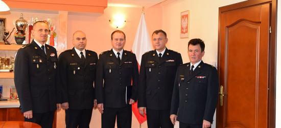 Nowy zastępca komendanta w sanockiej straży pożarnej