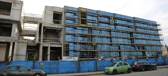 SANOK: Meldunek z budowy Centrum Symulacji Medycznej (ZDJĘCIA)
