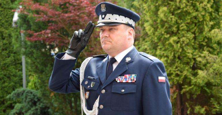 Komendant Wojewódzki Policji nadinspektor Henryk Moskwa przeszedł na emeryturę