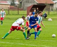 STAL SANOK: Bez niespodzianki w Nowosielcach. Stal w półfinale okręgowego Pucharu Polski (SKRÓT MECZU, ZDJĘCIA)