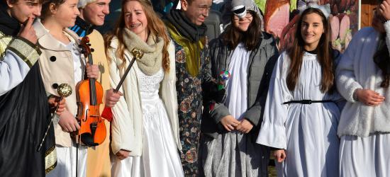 Świątecznie, kolorowo i radośnie. Jarmark Bożonarodzeniowy w Skansenie (ZDJĘCIA)