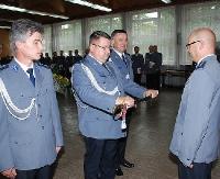 LESKO24.PL: Uroczyste obchody Święta Policji w Lesku (ZDJĘCIA)