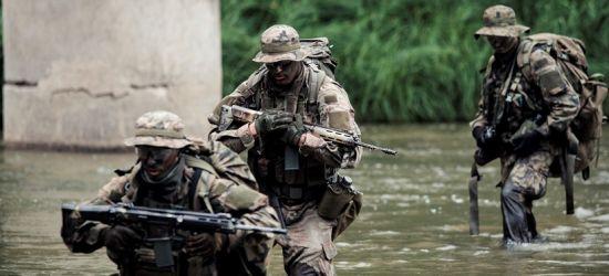 Ćwiczenia terytorialsów w Bieszczadach