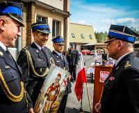 Komendant PSP w Lesku zakończył służbę. Wojciech Krzywowiąza był czynnym strażakiem przez 29 lat (ZDJĘCIA)