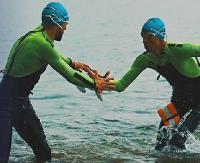 POLAŃCZYK / SOLINA: 40 kilometrów na lądzie i 5 w wodzie. W sobotę start maratonu swimrun w Solinie