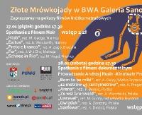 """NASZ PATRONAT: """"Złote Mrówkojady"""" w BWA. Pokaz filmów krótkometrażowych"""