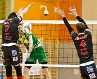 SIATKÓWKA: TSV Sanok postawiło się Warcie. Punktów niestety brak (FILM, OPINIE, ZDJĘCIA)