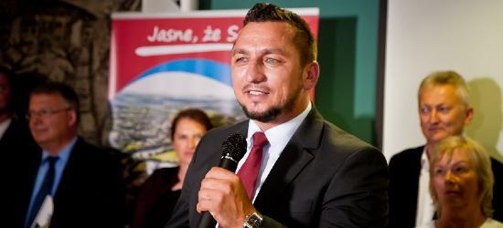 Tomasz Matuszewski zaprezentował program wyborczy (FILM, ZDJĘCIA)