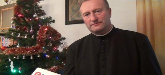 Świąteczne życzenia składa ks. Andrzej Szkoła (FILM)