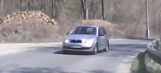 """""""Ścinacz i wyprzedzacz"""". Kolejny filmik z naszych dróg (VIDEO)"""