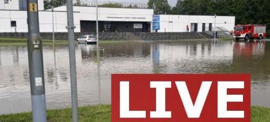 SANOK: Konferencja prasowa w sprawie zalanego budynku basenów (NA ŻYWO)