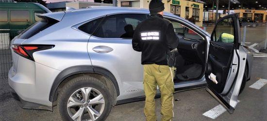Dwa kradzione lexusy na granicy za ponad 230 tys. zł (FOTO)