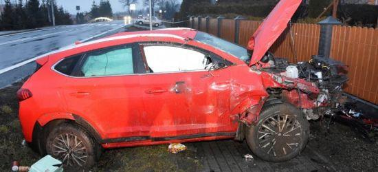 REGION: Groźny wypadek. Dwoje dzieci w szpitalu (ZDJĘCIA)