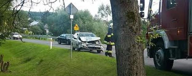 LESKO24.PL: Pijany wsiadł za kółko. Zepchnął do rowu samochód z trójką dzieci
