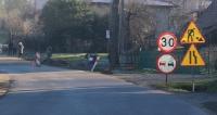 AKTUALIZACJA TARNAWA GÓRNA: 180 metrów chodnika przy drodze powiatowej. Niby niewiele, ale zawsze bezpieczniej (ZDJĘCIA)
