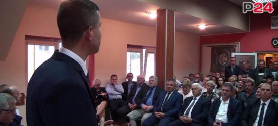 """Marek Bańkowski kandydatem na wójta gminy Bukowsko. """"Ma wsparcie na każdym szczeblu"""" (FILM)"""
