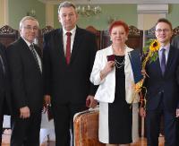 """SANOK: 50 lat razem – Jubileusz Małżeński """"Złote Gody"""" (ZDJĘCIA)"""