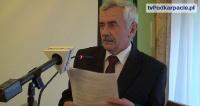 O inwestycjach drogowych i dofinansowaniu na wóz operacyjny dla policji w sprawozdaniu starosty sanockiego (FILM)