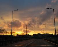 Zachody słońca i zachwycające kolory nieba. Jesienne krajobrazy w obiektywie naszych Czytelników (ZDJĘCIA)