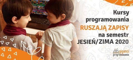 Programowanie dla dzieci i młodzieży. Ruszyły zapisy!
