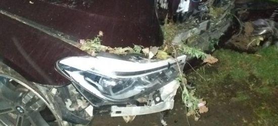 POWIAT SANOCKI: Uszkodził samochody, ogrodzenie i słup energetyczny