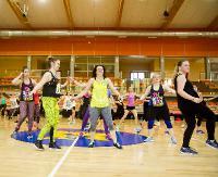 Dawka dobrej zabawy, humoru i zdrowia. VIII Maraton Zumba Fitness (ZDJĘCIA)