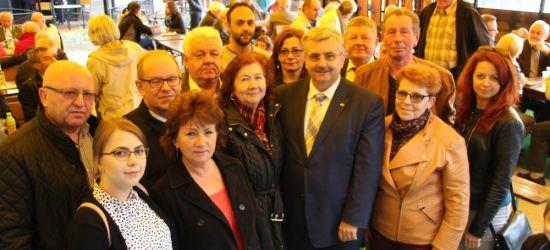 SANOK: SLD uczcił Święto Pracy i 15-lecie Polski w UE. Przedstawiono kandydata w eurowyborach (FILM, ZDJĘCIA)