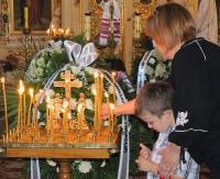 SANOK: Ostatnie pożegnanie arcybiskupa Adama Dubeca (ZDJĘCIA)