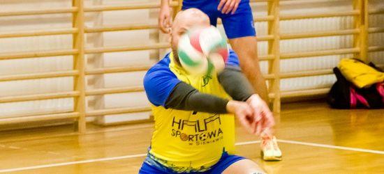 Jednostronne pojedynki w 7 kolejce Sanockiej Ligi Siatkówki