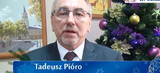 Życzenia bożonarodzeniowe burmistrza Sanoka Tadeusza Pióro (FILM)