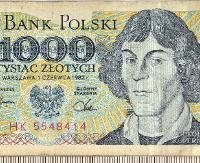 Chciał zapłacić  historycznym banknotem 1000-złotowym. Był przekonany, że spokojnie może go wydać (ZDJĘCIE)