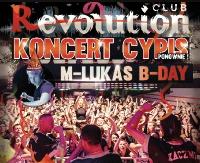 NASZ PATRONAT: Gorączka sobotniej nocy w Revo! Urodziny rezydenta M-Lukasa i koncert Cypisa