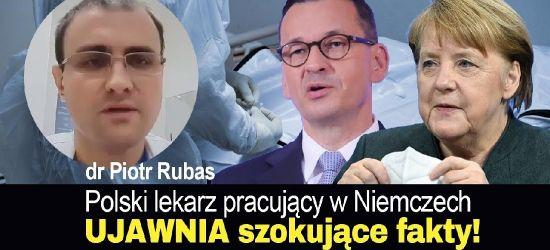 PILNE! Polski lekarz pracujący w Niemczech UJAWNIA szokujące fakty ws. pandemii!