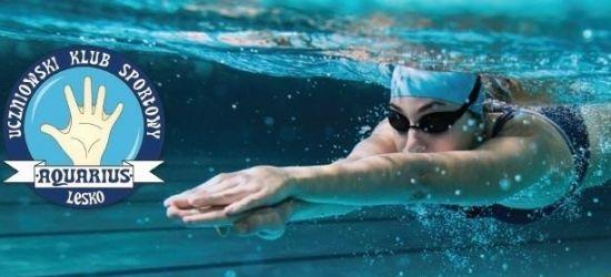 Ruszyły zapisy do Klubu Pływackiego UKS AQUARIUS LESKO!