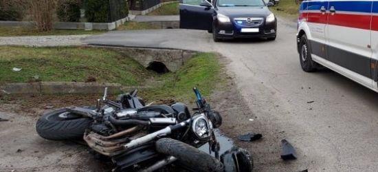 PODKARPACIE: Tragiczny wypadek z udziałem motocyklisty