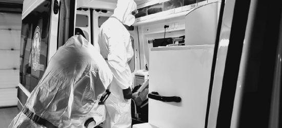 SANOK. Atak na ratownika medycznego w karetce. Pijany 34-latek (FOTO)