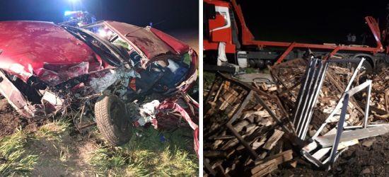 BESKO: Wjechała pod ciężarówkę! 19-latka w ciężkim stanie (ZDJĘCIA)