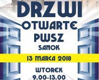 """DZISIAJ / PWSZ SANOK zaprasza na """"Drzwi otwarte""""!"""