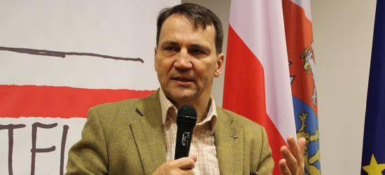 SIKORSKI: Polska może być lepsza, ale wiele musi się zmienić (VIDEO, FOTO)