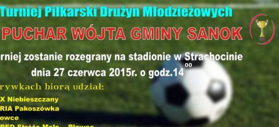 Drużyny młodzieżowe powalczą o Puchar Wójta gminy Sanok