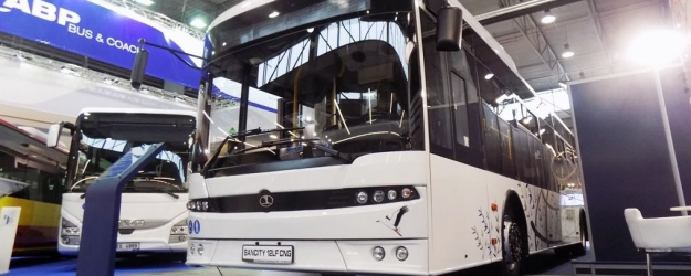 Autosan pokazał w Kielcach autobus na gaz